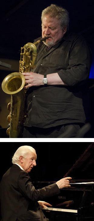 Ronnie Cuber (Foto: Eddy Westveer) & Rein de Graaff
