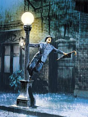 Gene Kelly in Singin' in the Rain