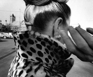 Mark Cohen, Ear, Hand, Leopard, Coat, 1975