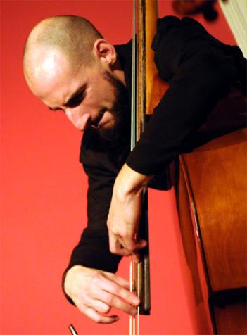Bassist Gonçalo Almeida