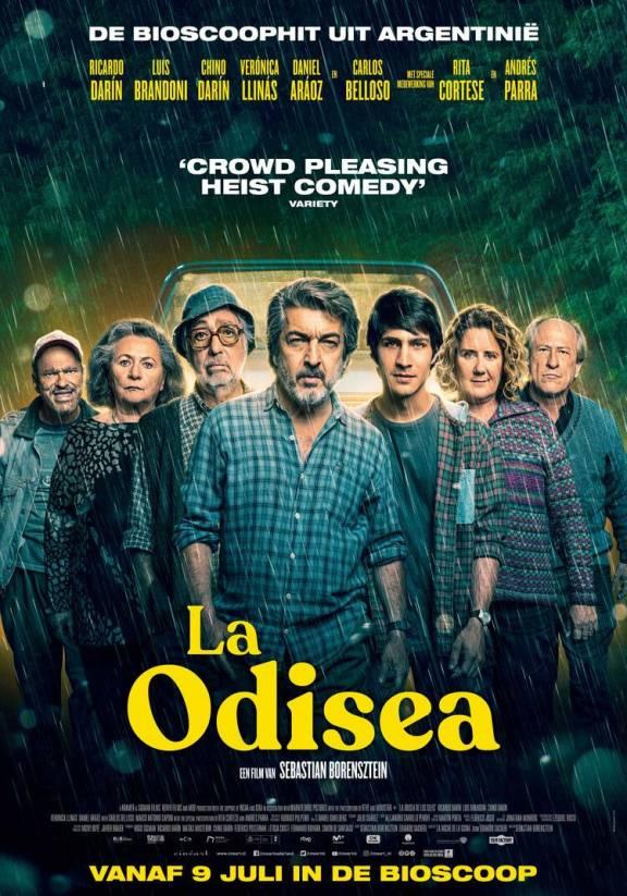 filmposter van La Odisea