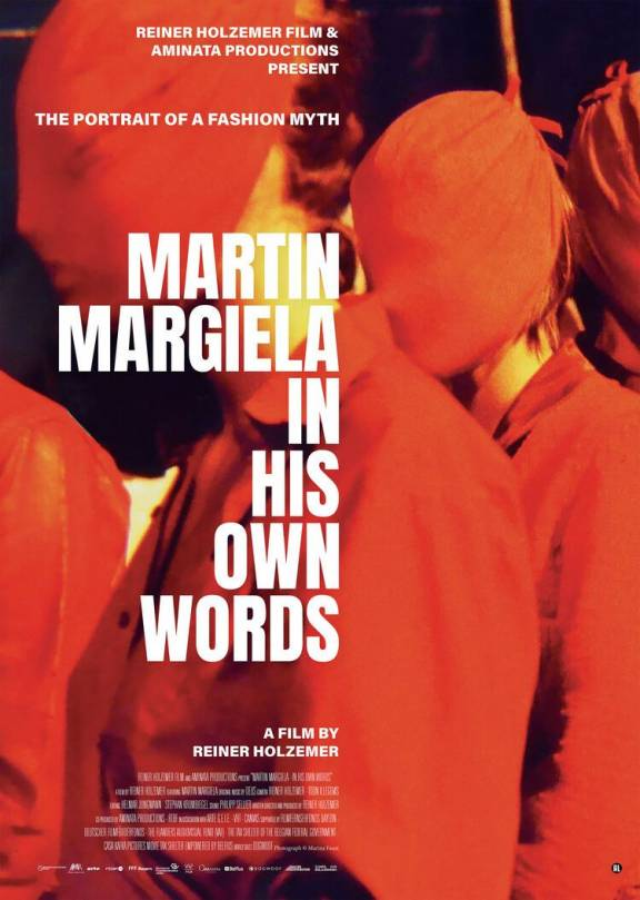 Filmposter documentaire Martin Margiela In His Own Words