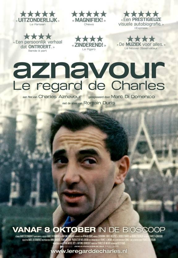 Aznavour, le regard de Charles Poster