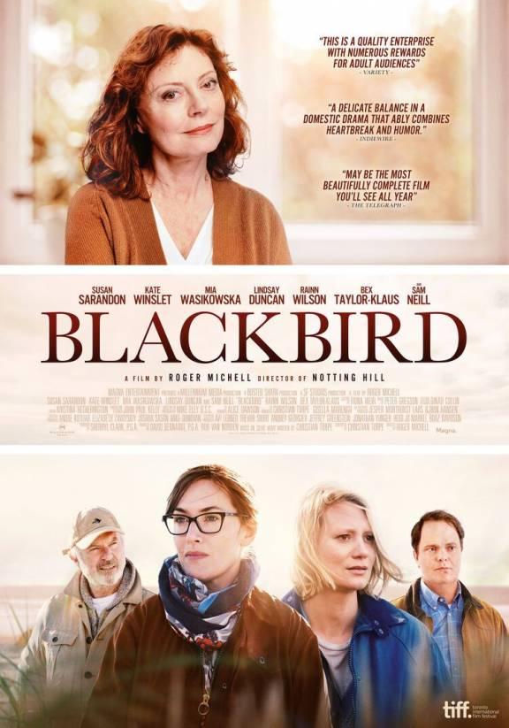 Filmposter Blackbird 2020