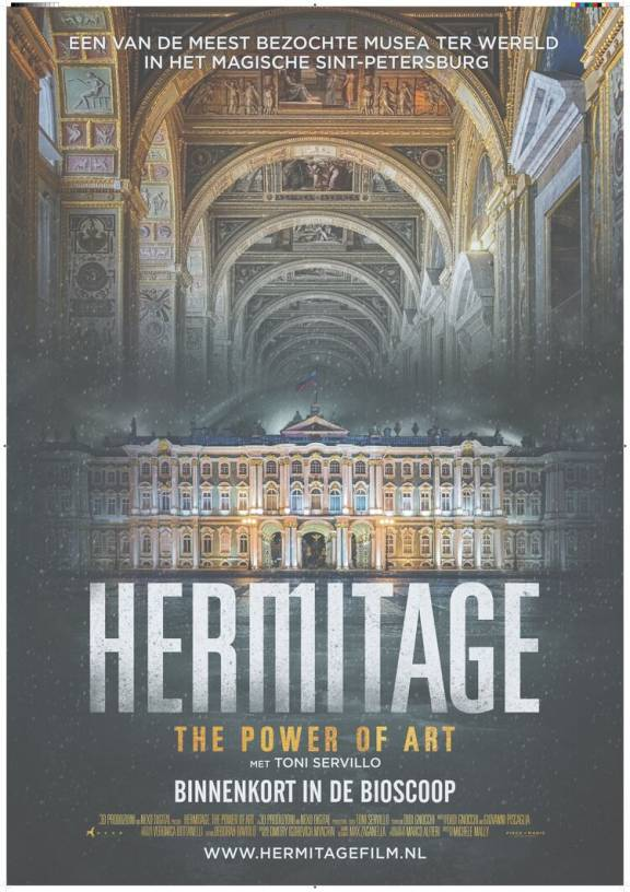Filmposter Hermitage The Power of Art