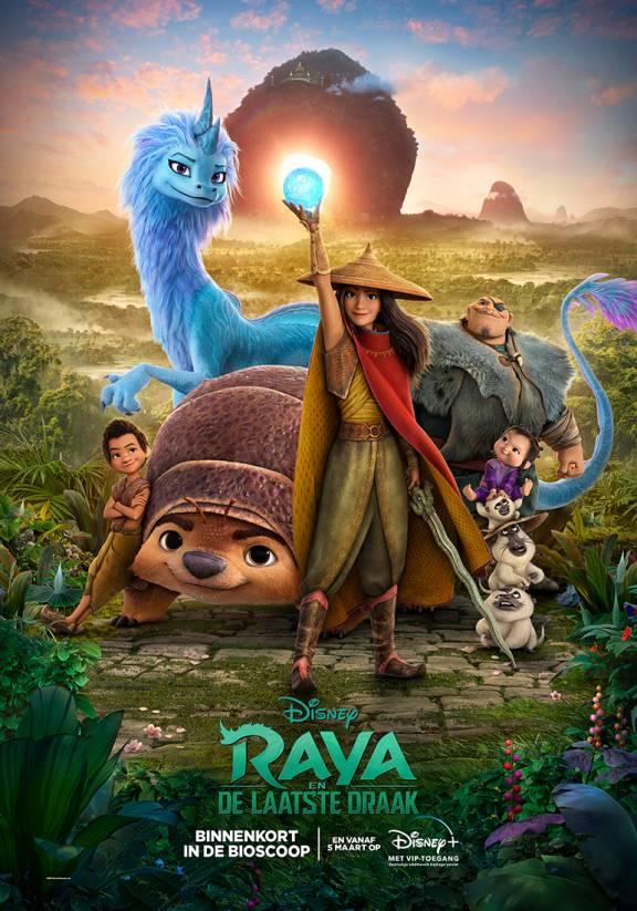 Poster Raya en de draak