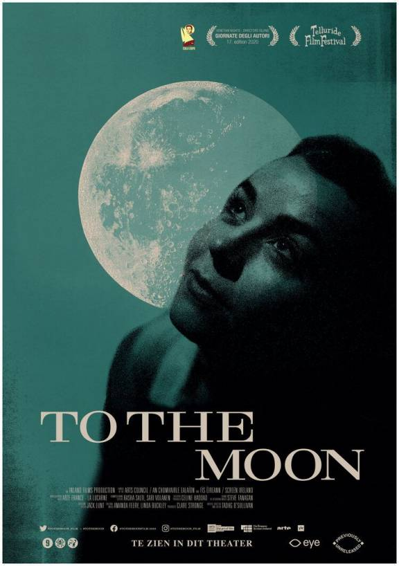 Filmposter To the Moon, previously unreleased