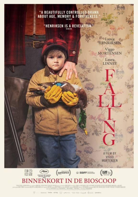 Filmposter Falling