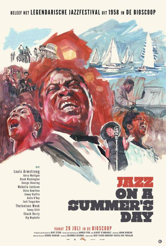 Filmposter Jazz on a Summers day
