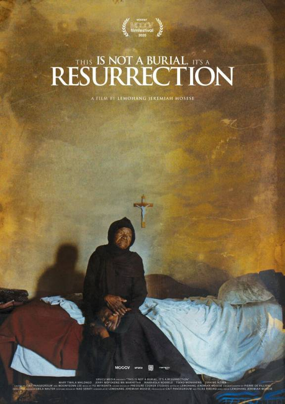 Filmposter This Is Not a Burial, It's a Resurrection